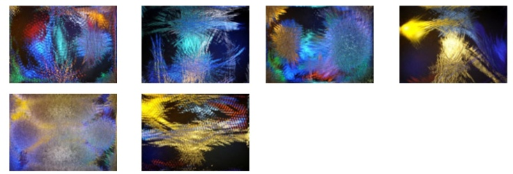 Cymatics by music